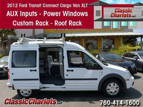 2012 *Ford* *Transit* *Connect* *Cargo* *Van* XLT - 1 Owner Carfax