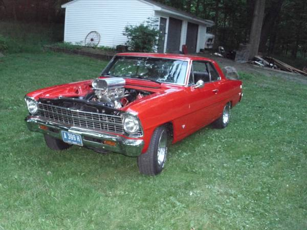 1967 4 speed nova