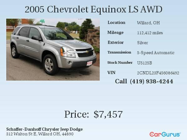 2005 Chevrolet Equinox LS AWD
