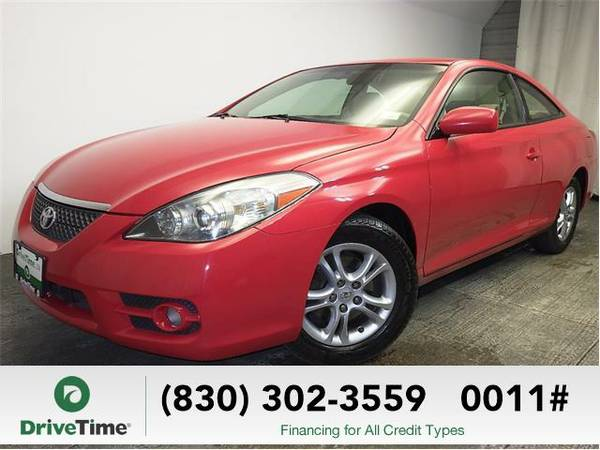 Beautiful 2007 *Toyota Camry Solara* SE (RED) - Clean Title