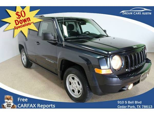 2015 *Jeep*Patriot 4WD* 4d Wagon Sport - GOOD OR BAD CREDIT OK!