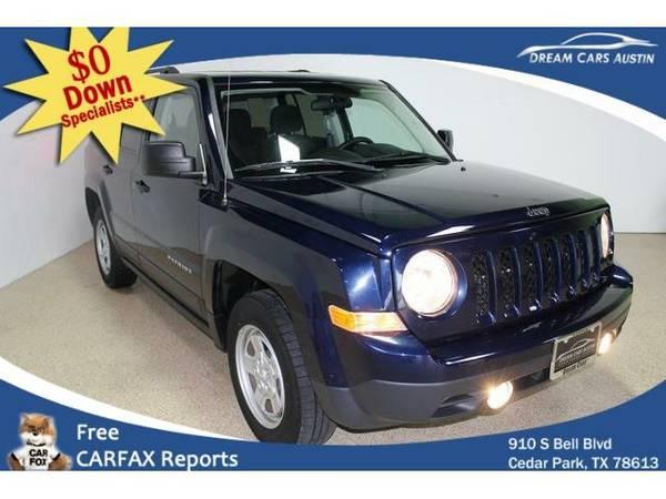 2015 *Jeep*Patriot 4WD* 4d Wagon Sport - GOOD OR BAD CREDIT OK!