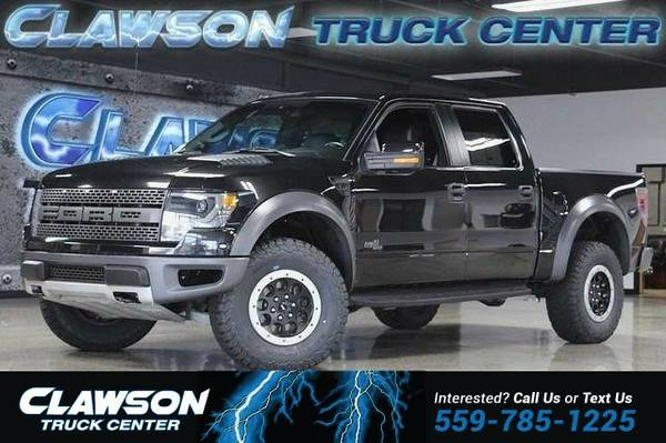2014 Ford F-150 4WD SuperCrew 145 SVT Raptor Truck F-150 Ford