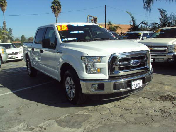 2015 *FORD* *F150* *XLT* *TURBO 4D ECO BOOST ONLY 15,750 MILES $0 DOWN