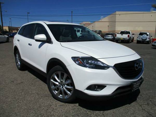 2014 *Mazda CX-9* AWD 4dr Grand Touring - (WHITE) 6 Cyl.