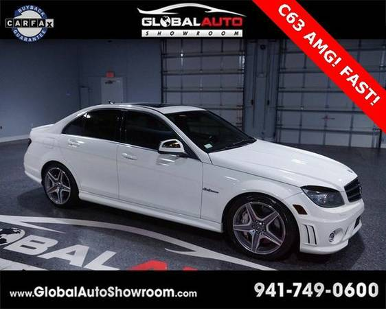 2009 *Mercedes-Benz* *C-Class* C63 AMG® *Over 100 in...