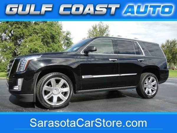 2015 Cadillac Escalade Premium! 1-OWNER! FL CAR! NAV! 3RD ROW! DVD!...