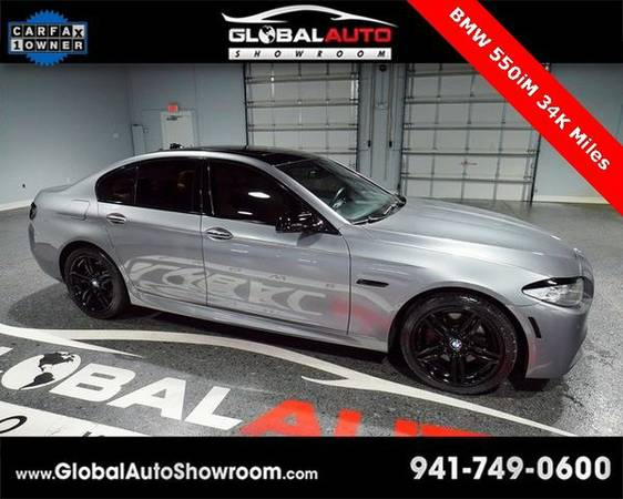 2012 *BMW* *5* *Series* 550i *Over 100 in Stock-Indoor Showroom-SR 64