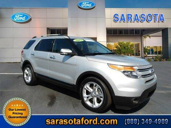 2015 *Ford Explorer* Limited - (Ingot Silver Metallic) OPEN SUNDAYS