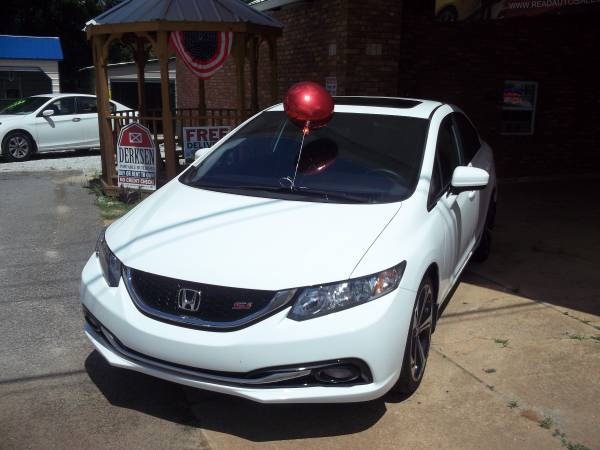 2015 Honda Civic Sedan - Free Warranty!