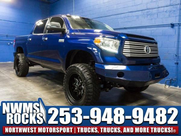Lifted 2014 *Toyota Tundra* Platinum 4x4 -
