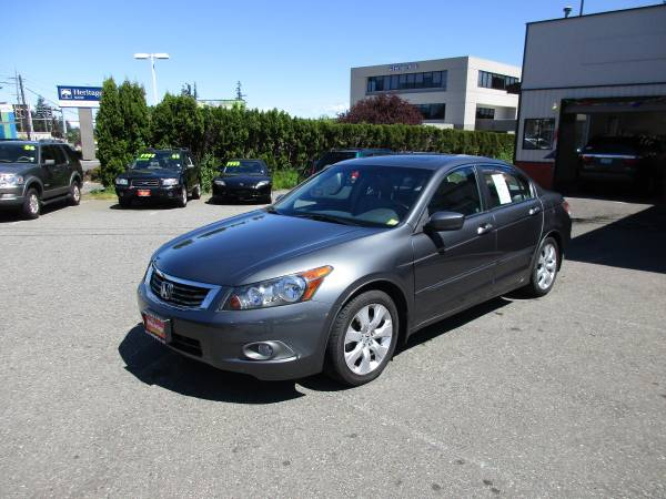 2009 Honda Accord EX-L w/Navigation-Automatic! Loaded!