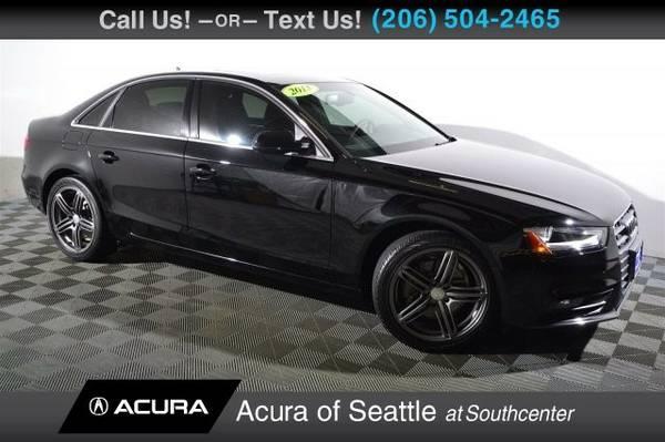 2013 Audi A4 Premium Plus Sedan A4 Audi
