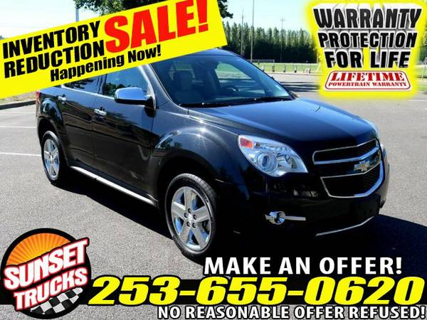 2015 *Chevy Equinox* LTZ V6 3.6L 6-Speed Automatic AWD Crossover SUV