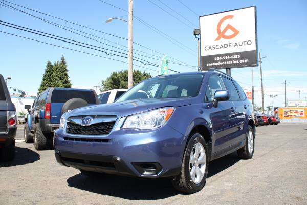 2013 SUBARU FORESTER 2.5i BLUE ONE OWNER AWD SUV PREMIUM