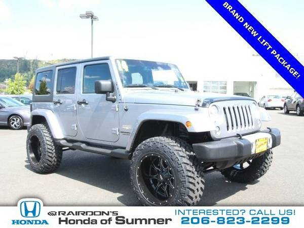 2014 Jeep Wrangler Unlimited Unlimited Sahara SUV Wrangler Unlimited...