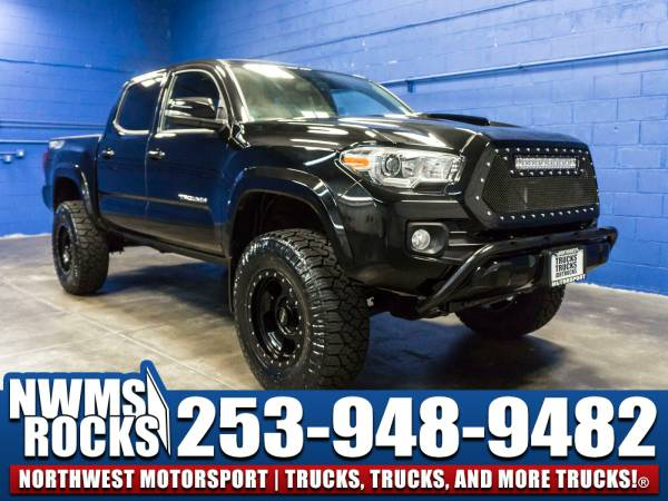 Lifted 2016 *Toyota Tacoma* TRD Sport 4x4 -