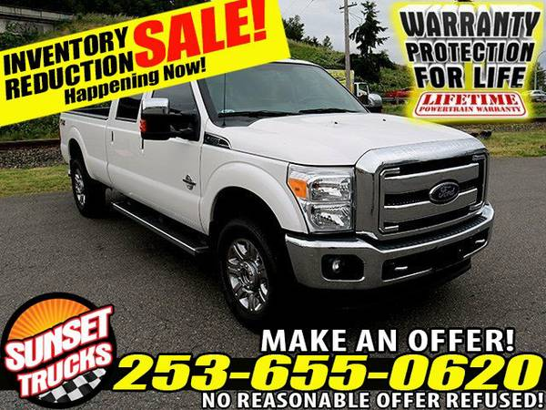 2016 *Ford Super Duty* FORD F350 Diesel 6.7L Ford F350 4x4 Truck