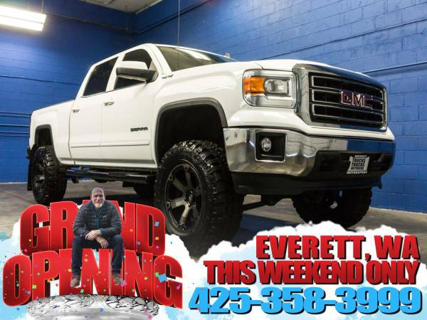 Lifted 2014 *GMC Sierra* 1500 SLE 4x4 - Power Driver Seat! 2014 GMC...