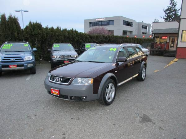 2004 Audi allroad Quattro-LOW miles! New Brakes & Air Suspension!!