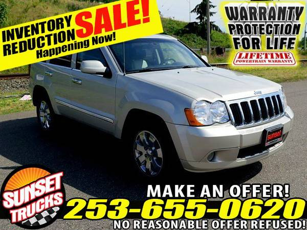 2010 *Jeep Grand Cherokee* Limited 3.7L V6 4WD SUV 4x4 SUV SUVs
