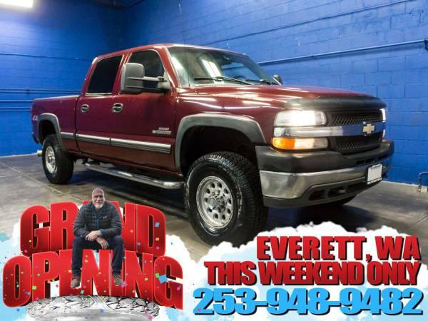 2002 *Chevrolet Silverado* 2500HD 4x4 - 2002 Chevrolet Silverado...
