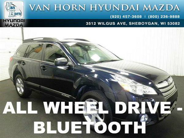2014 *Subaru Outback* 2.5i AWD - Deep Indigo Pearl BAD CREDIT OK!