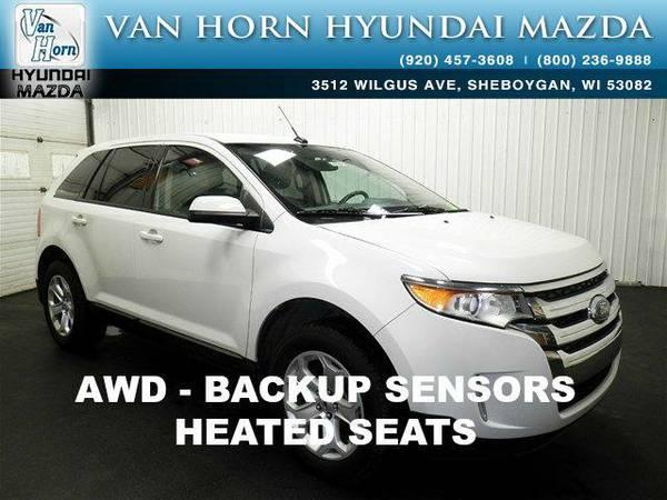 2013 *Ford Edge* SEL AWD - White BAD CREDIT OK!