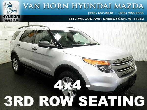 2014 *Ford Explorer* EXPLORER 4X4 - Ingot Silver Metallic BAD CREDIT...