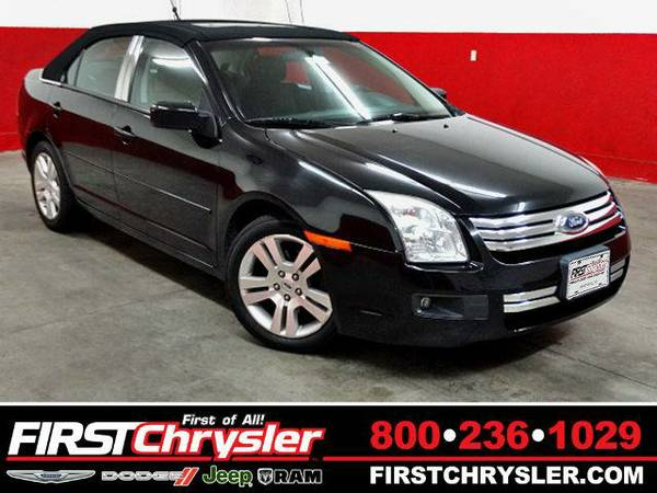2007 *Ford Fusion* SE I4 - Ford Black Clearcoat