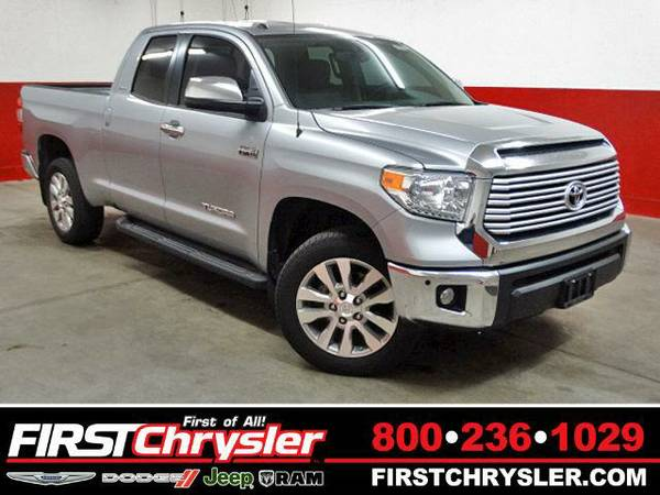2014 *Toyota Tundra* Limited-4x4-Double Cab - Toyota Silver Sky...
