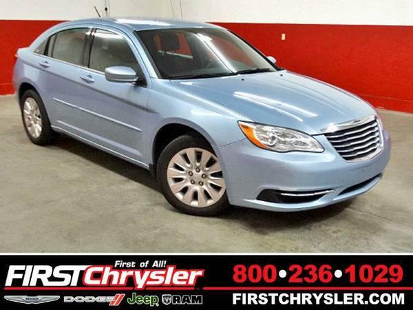 2013 *Chrysler 200* LX - Chrysler Crystal Blue Pearlcoat