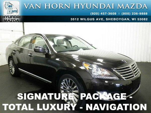 2014 *Hyundai Equus* Signature - Black Noir Pearl BAD CREDIT OK!
