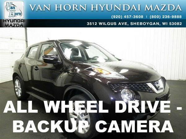 2015 *Nissan Juke* SV AWD - Bordeaux Black BAD CREDIT OK!
