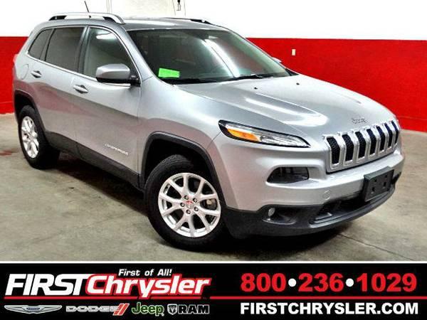 2015 *Jeep Cherokee* Latitude-4x4 - Jeep Billet Silver Metallic...