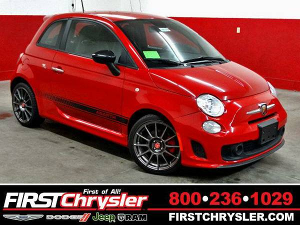 2013 *FIAT 500* Abarth - FIAT Rosso (Red)