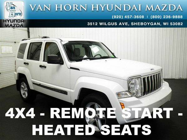2009 *Jeep Liberty* Limited Edition 4X4 - Stone White Clearcoat BAD...