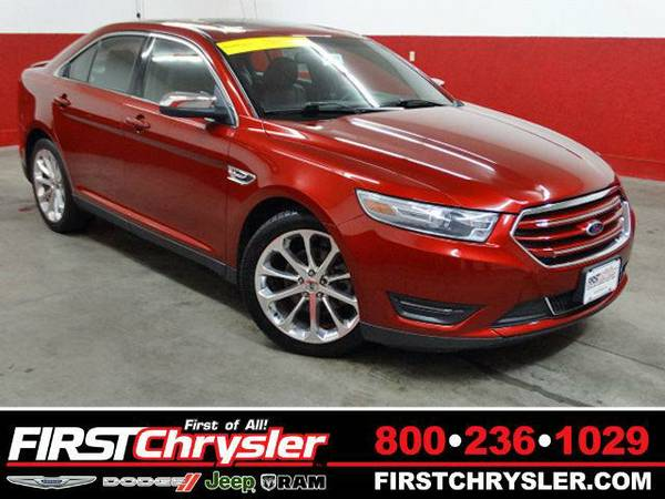 2013 *Ford Taurus* Limited - Ford Ruby Red Metallic Tinted Clearcoat