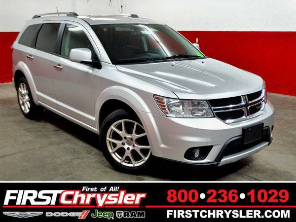 2011 *Dodge Journey* Crew-AWD - Dodge Bright Silver Metallic Clearcoat