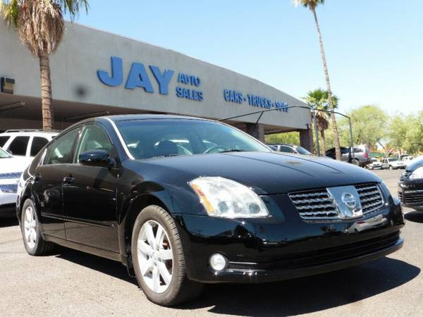 2005 Nissan Maxima Auto 3.5 SL /CLEAN CARFAX/ /LEATHER LOADED With...