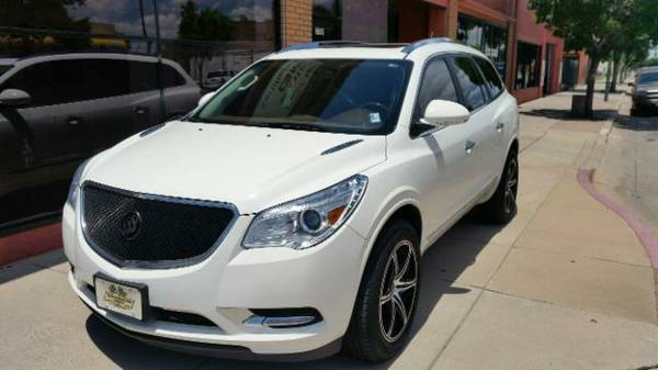 2014 BUICK ENCLAVE LEATHER EDITION, MANY EXTRAS, SHOWROOM CLEAN