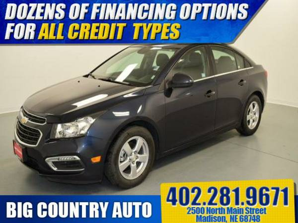 2015 Chevrolet Cruze 4dr Sdn Auto 1LT 4dr Car 4dr Sdn