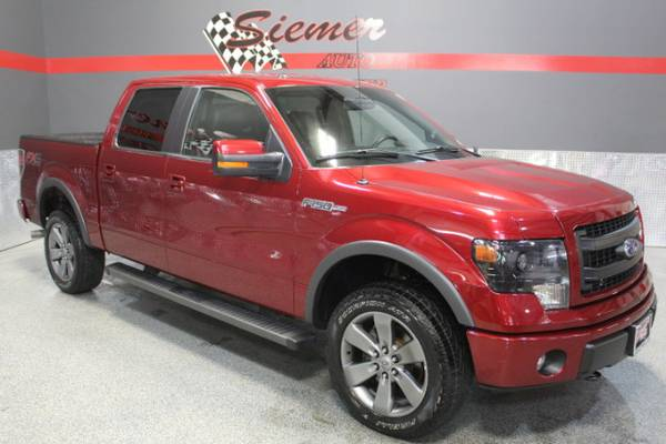 2013 Ford F150 FX4*SIZZLING RED HOT, SUMMER CLEARANCE, CALL US TODAY!