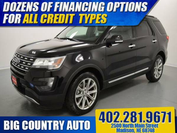 2016 Ford Explorer 4WD 4dr Limited Sport Utility 4WD 4dr