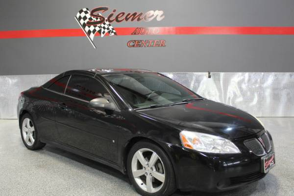 2006 Pontiac G6 CONVERTIBLE*END OF SUMMER CLEARANCE EVENT, CALL US!*