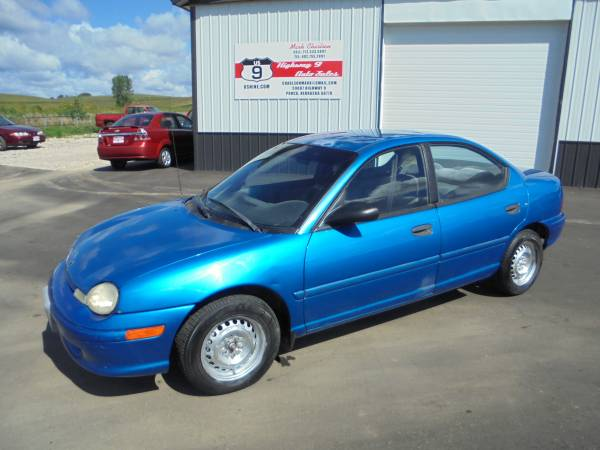 1999 Dodge Neon - Runs Awesome - Cold AC - New Tires- Just 150k