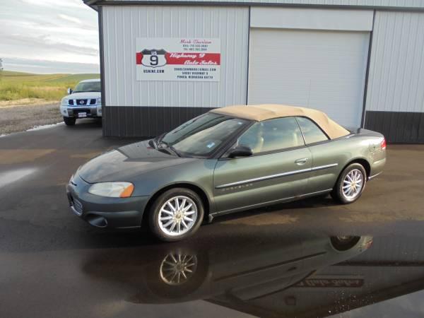 2001 Chrysler Sebring Convertible - Runs and Drives Awesome - Nice Car