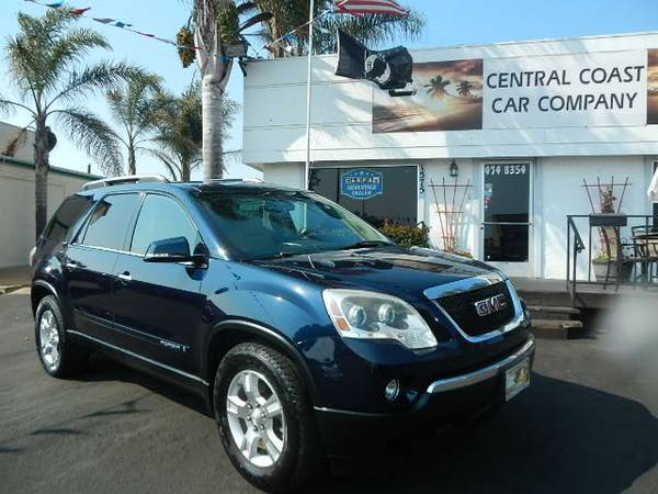 2008 GMC ACADIA SLT FULLY LOADED AWD BEAUTIFUL FAMILY VEHICLE!!!