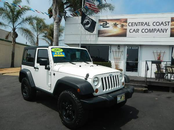 2007 JEEP WRANGLER RUBICON 4X4 LIFTED ONE OWNER ONLY 54K MILES!!!