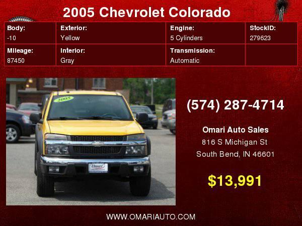 2005 Chevrolet Colorado . Bad Credit? CALL US NOW!